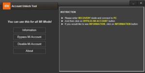 Download Mi Account Unlock Tool | Bypass Mi Cloud