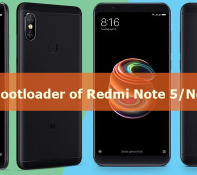Redmi Note 5 Recovery Mode