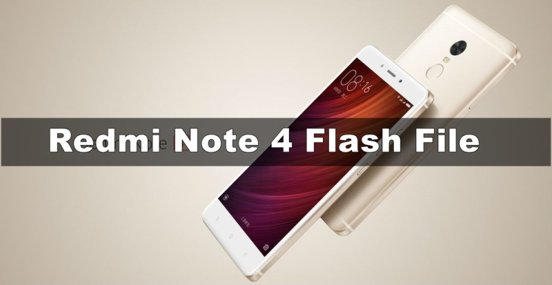 Xiaomi Redmi Note 4 Flash File (Stock ROM) | September 2019